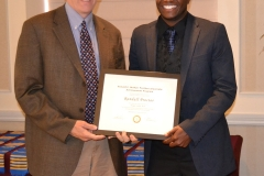 Randall Proctor_McNair Scholars Award_2014